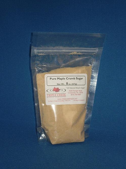 Pure Maple Crumb (granulated) Sugar / 8 oz.