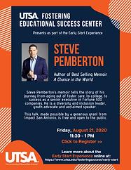 Steve Pemberton Speaker - Aug. 21 2020 (