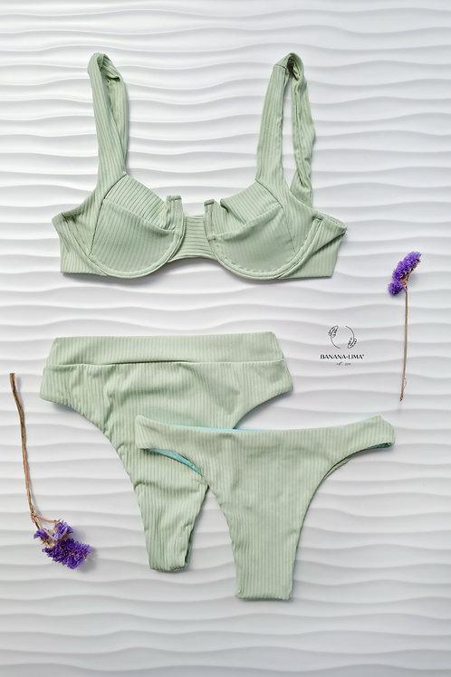 Conjunto Verde Menta (new bottom)