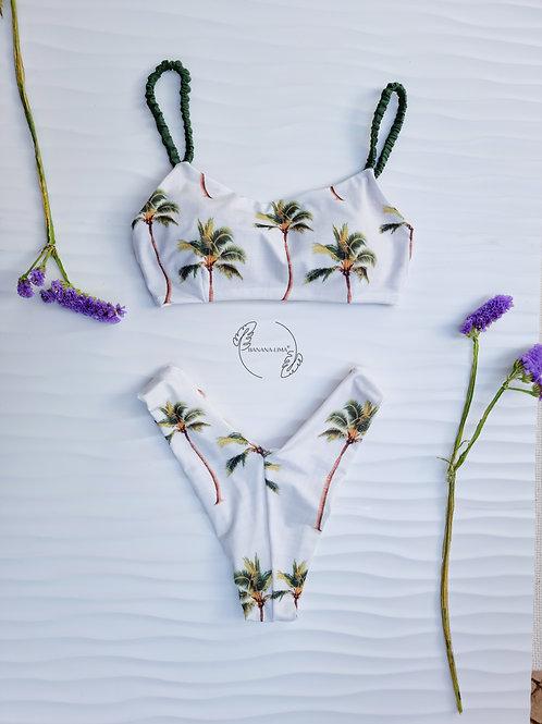 Conjunto Palm Trees Cream