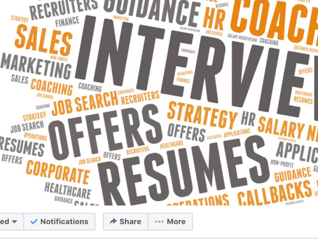 Job seekers, join us on Facebook!