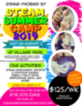 Copy of Copy of Kids Summer Camp Flyer -