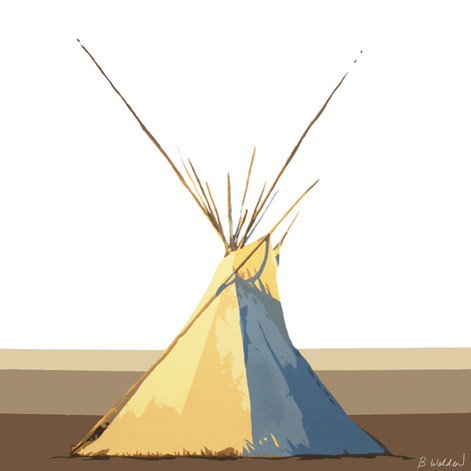 Tipi Sunrise