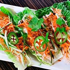 Grilled Chicken Lettuce Wrap