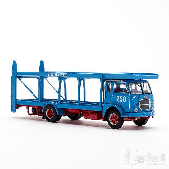BREKINA 58480 1/87 Fiat 642 カーキャリア E.Strasser仕様