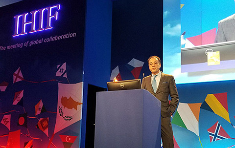 Alex Zozaya at IHIF 2018
