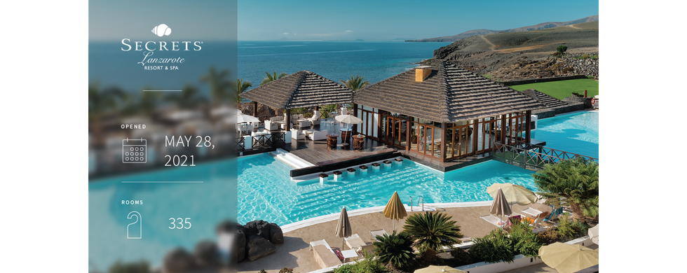 One of the first Secrets Resorts & Spas in Europe, Secrets Lanzarote Resort & Spa brings a tranquil adult escape to the beautiful Puerto Calero Marina of the Canary Islands, offering an inviting gateway to guests who are seeking romantic views overlooking the deep blue ocean of the Atlantic. Indulge in exquisite restaurants and bars, sparkling pools, a rejuvenating spa and a fully-equipped fitness centre, all under one roof.