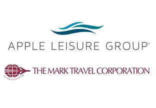 Apple Leisure Group and The Mark Travel Corporation logos