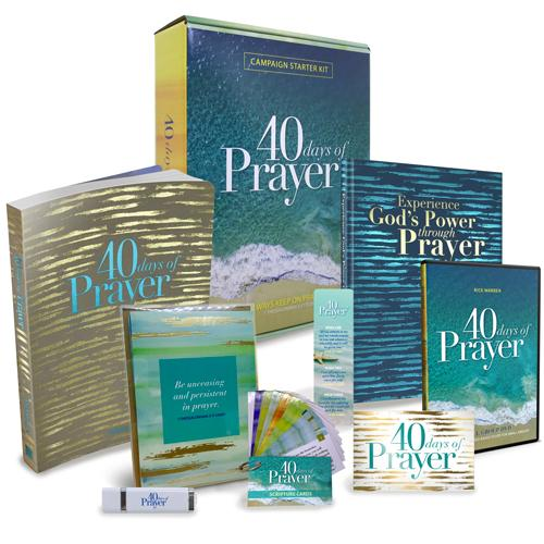 40 Days of Prayer