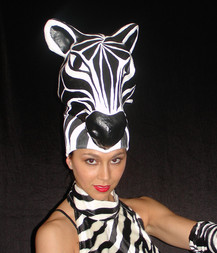 Masque animal spectacle cirque