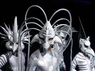 masque animal cirque
