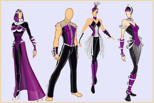 Dessin costume spectacle 1