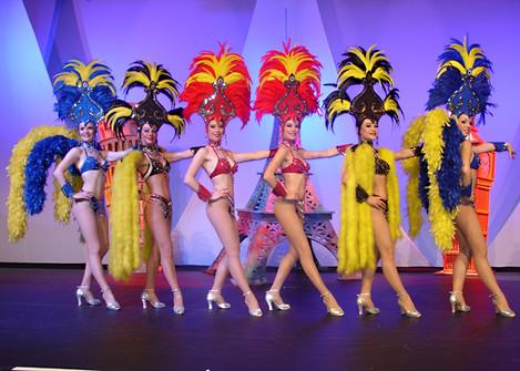 Plumes, cabaret, Music-hall, cirque; spectacles