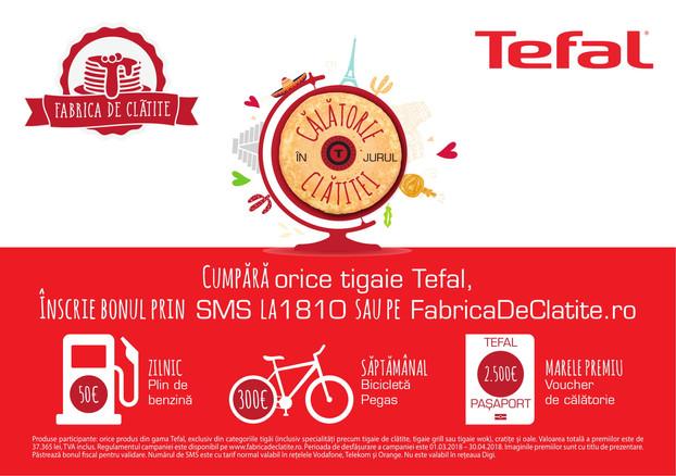 Fabrica de Clatite Tefal – Pancakes with travel flavour