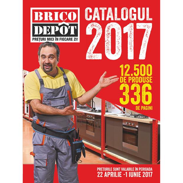 Brico Dépôt lanseaza Catalogul 2017, dedicat mesterilor si profesionistilor in bricolaj