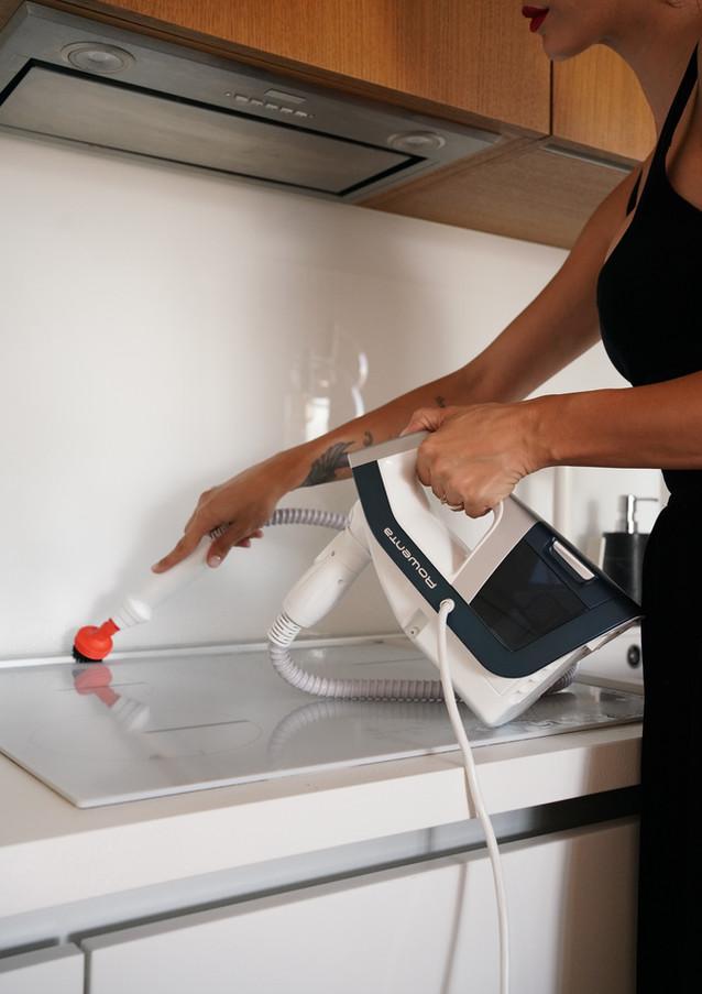Ioana Grama for Rowenta Clean and  Steam