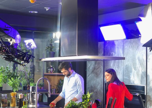 TV spot shooting for Tefal Resource
