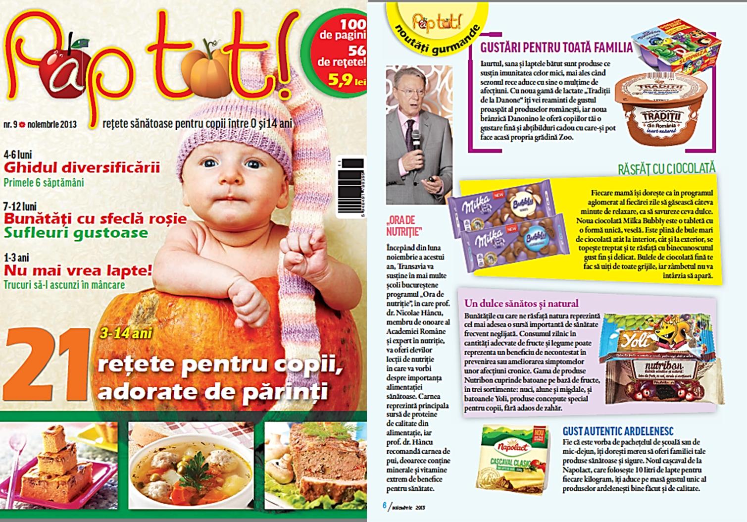 PR revista Pap tot