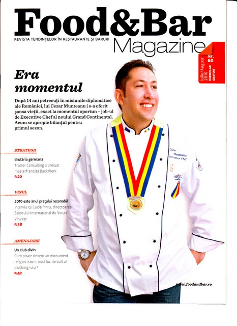 Coperta food & bar magazine