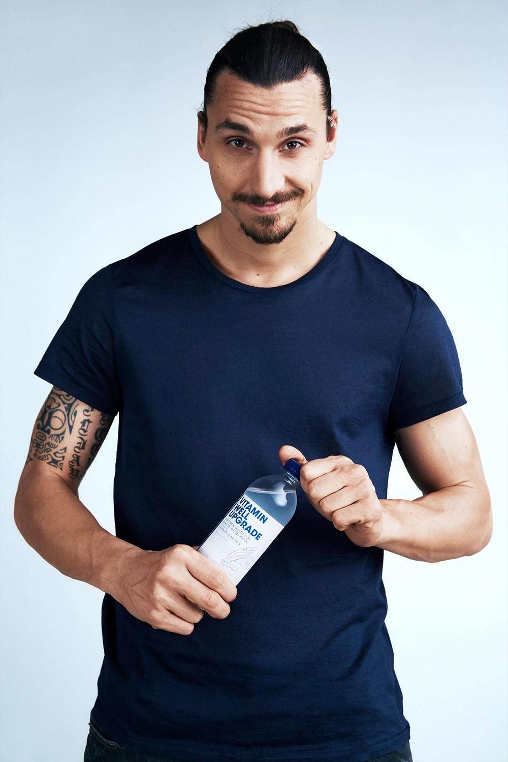 Zlatan Ibrahimovic for Vitamin Well