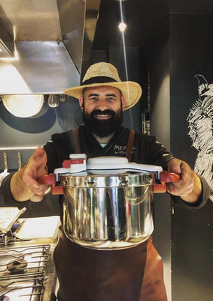 Chef Adrian Hadean for Tefal Romania