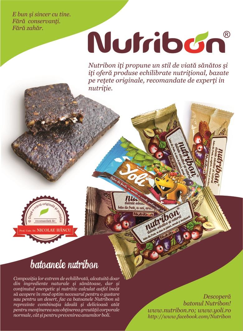 Macheta Nutribon Romania Libera