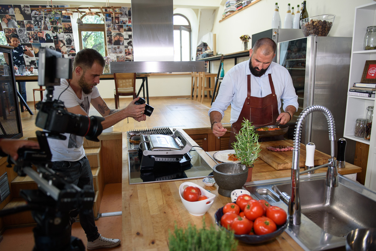 Shooting Adrian Hadean for Club Tefal
