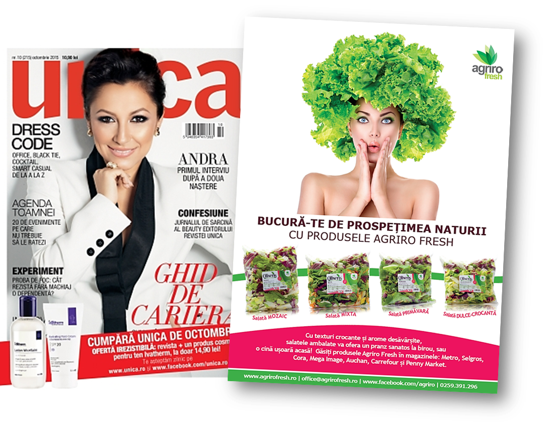 Colaj Revista Unica Agriro Fresh