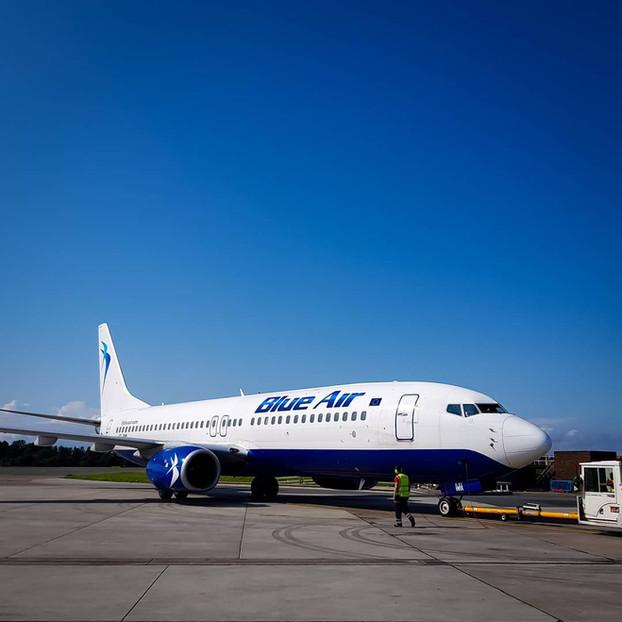 Blue Air anunta zboruri suplimentare in luna iunie pentru rutele cu cele mai multe cereri primite de