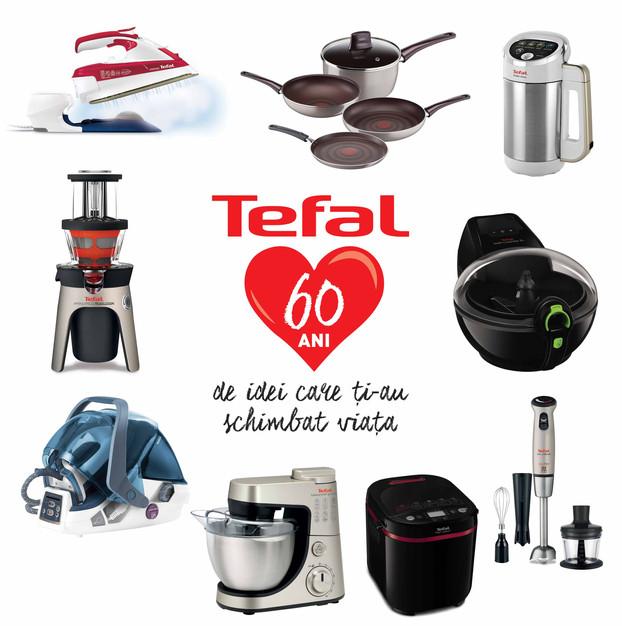 Tefal – 60 de ani de inovație și succes