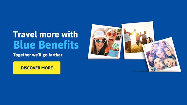"""Calatoreste mai mult! Blue Air a lansat programul de fidelitate """"Blue Benefits"""""""