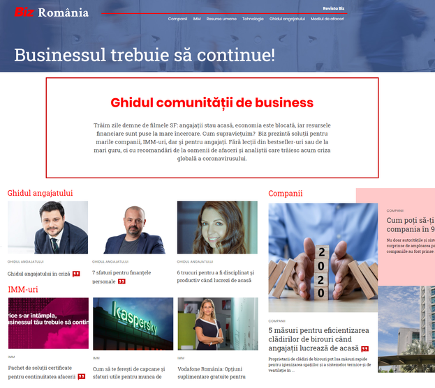 S-a lansat BizRomania.ro, ghidul comunitatii de business