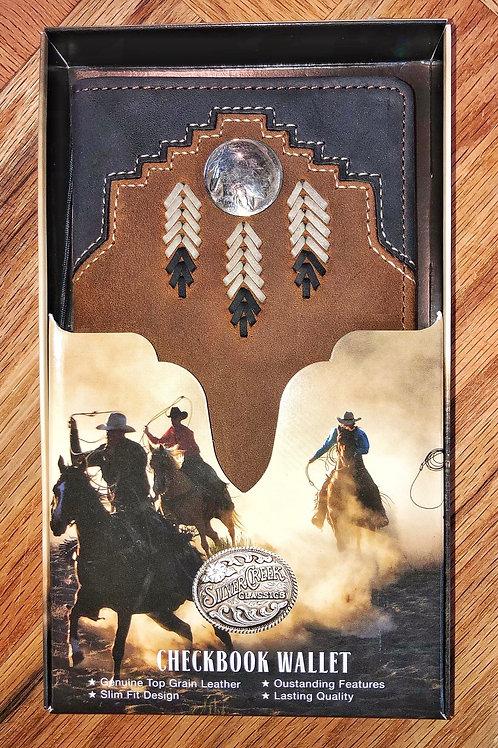 Indian Coin Brown & Black Roper Wallet