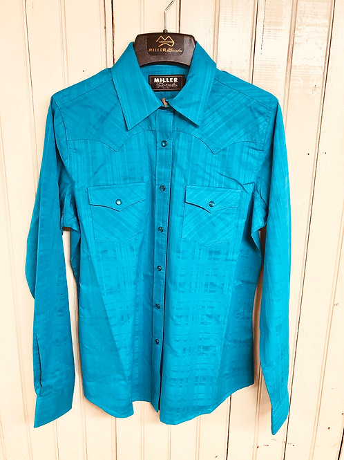 Womens Turquoise Show Shirt
