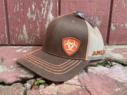 Oilskin Brown Ariat Cap