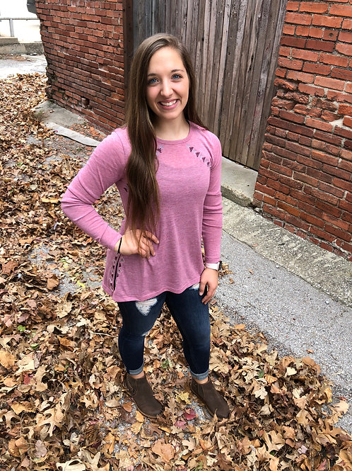 Pink High Low Tunic