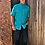 Thumbnail: Wrangler Turquoise Short Sleeve Top