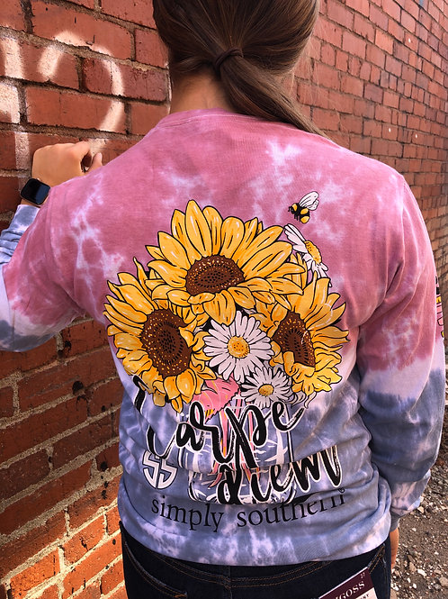 Carpe Diem Long Sleeve Tee