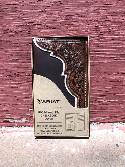 Ariat Rodeo Wallet with Leather Embossing