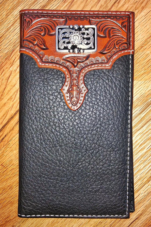 Black & Brown Roper Wallet