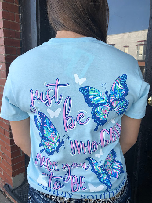 Just Be Who God Made You To Be T-Shirt