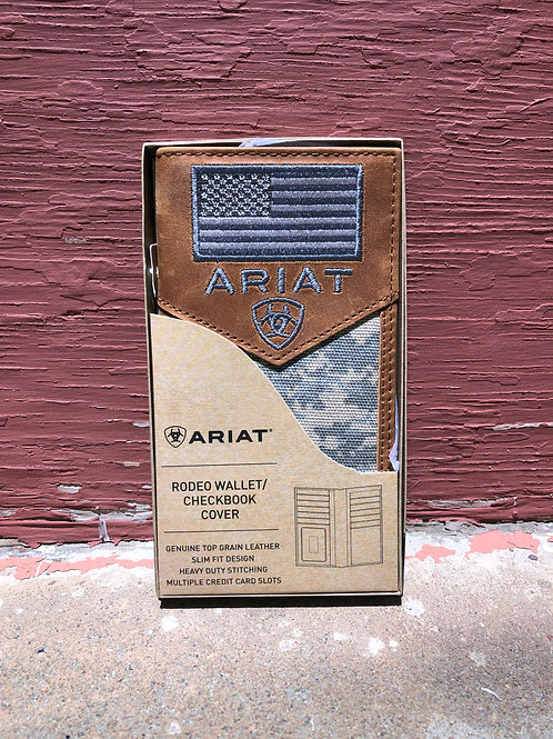 Ariat American Flag Rodeo Wallet