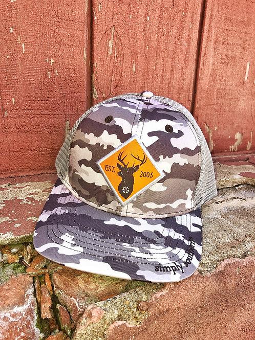 Camo Buck Cap