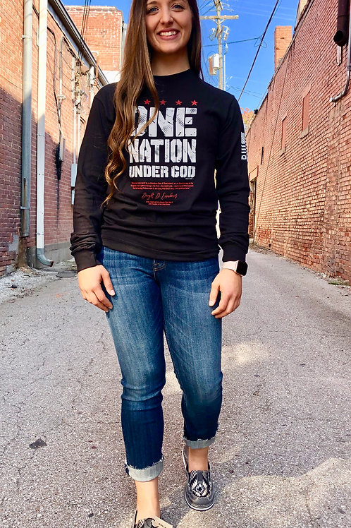 One Nation Under God Long Sleeve Tee