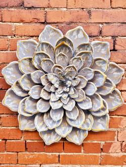 Large Metal Flower