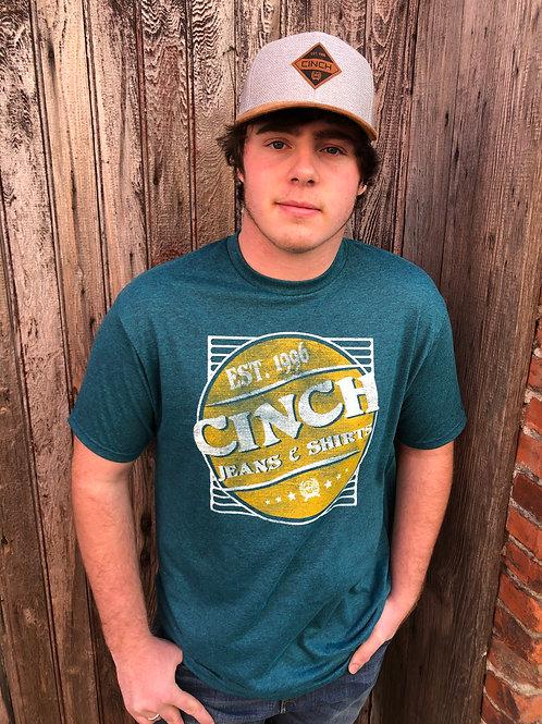 Cinch Teal T-Shirt