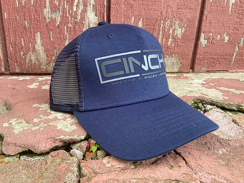 Navy Cinch Cap