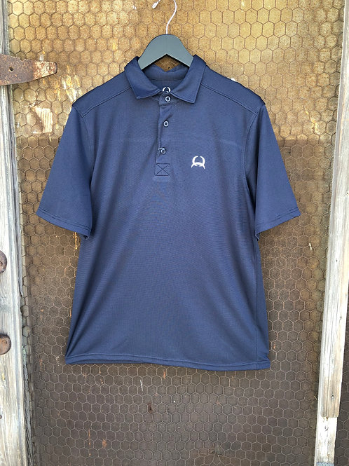Navy ArenaFlex Cinch Polo