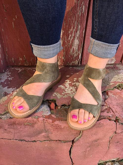 IRIE Olive Green Born Sandal