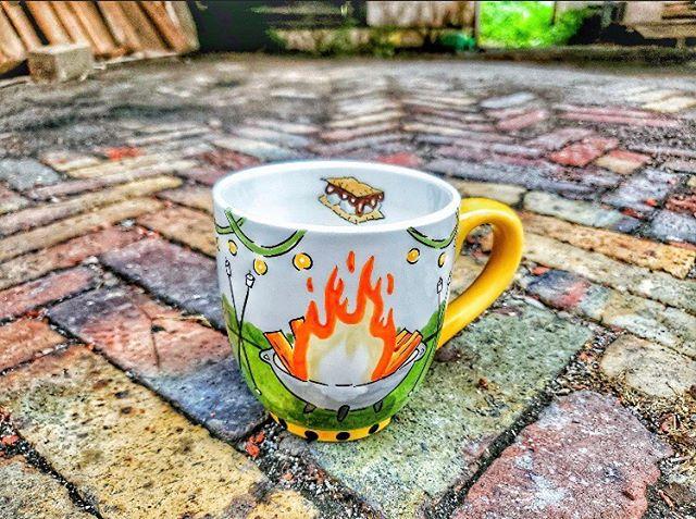 S'mores Campfire Mug